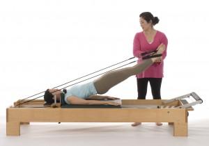 Pei-Yi Cheng, Faith O'Neal. Long Spine Stretch. Copyright 2007 Jennifer Stacey.