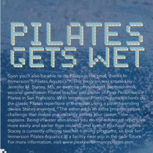 Pilates Style IPA article